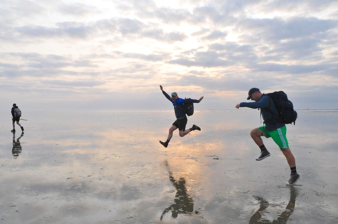 Wadlopen naar Schiermonnikoog, foto Tom van der Leij